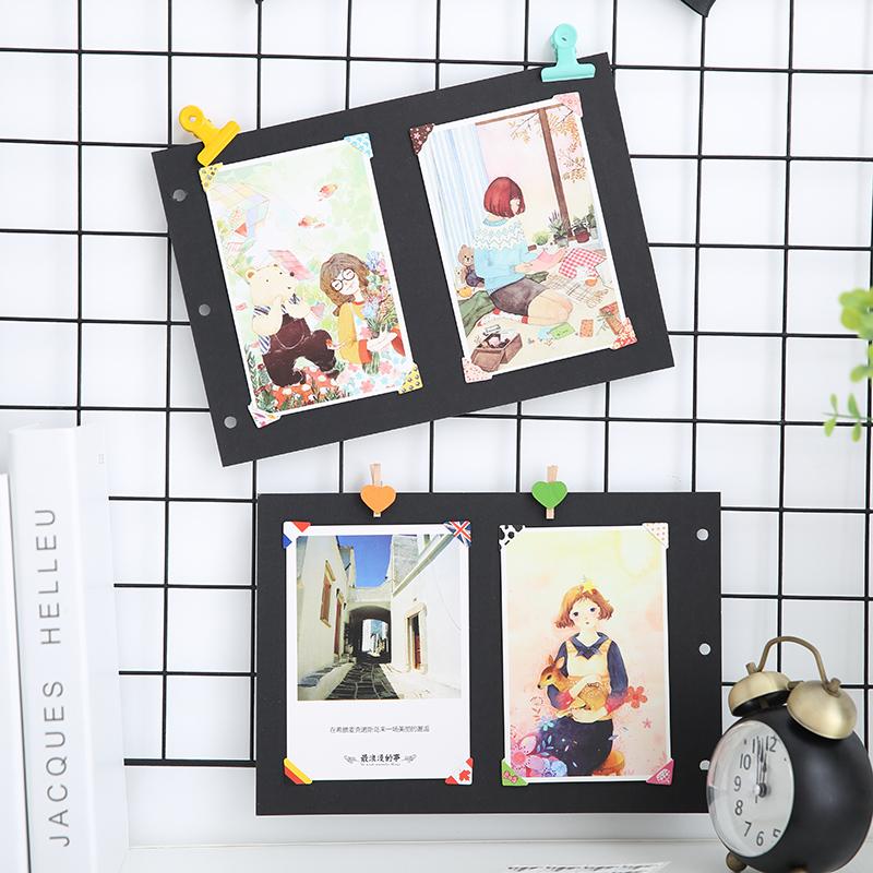 手工diy相册配件工具粘贴式相册固定照片创意墙面相片角贴24枚