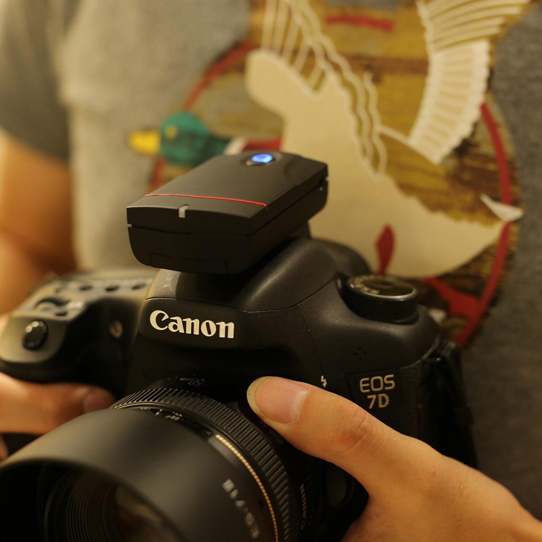 茄子快门线茄紫无线智能快门延时摄影手机蓝牙B门包邮