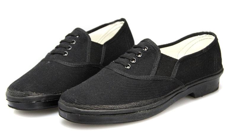 3537正品87布鞋解放鞋<俄罗斯军用帆布鞋男78工作鞋厨师司机鞋夏