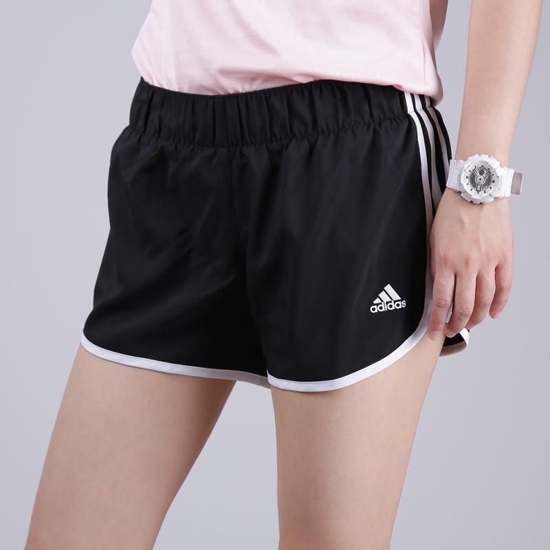 Adidas阿迪达斯女2019新款跑步运动服透气宽松短裤BR5963