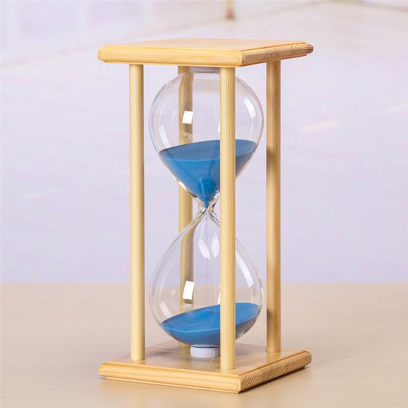 分钟时光定时木质摆件创意儿童学生 60 45 30 15 沙漏计时器时间