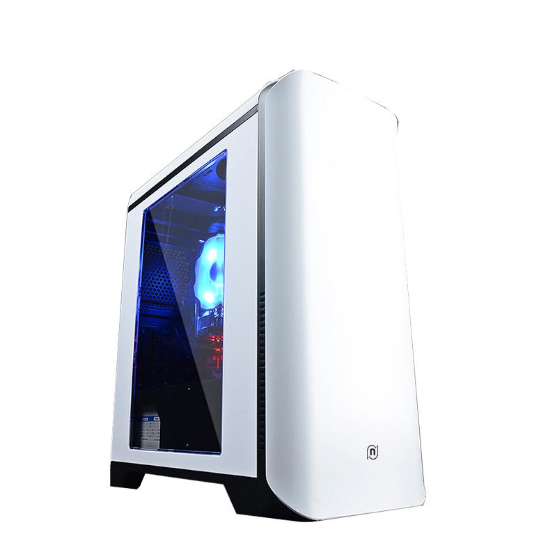 兼容办公家用电脑主机全套 DIY 台式组装机 8100 升 7100 i3 宁美国度