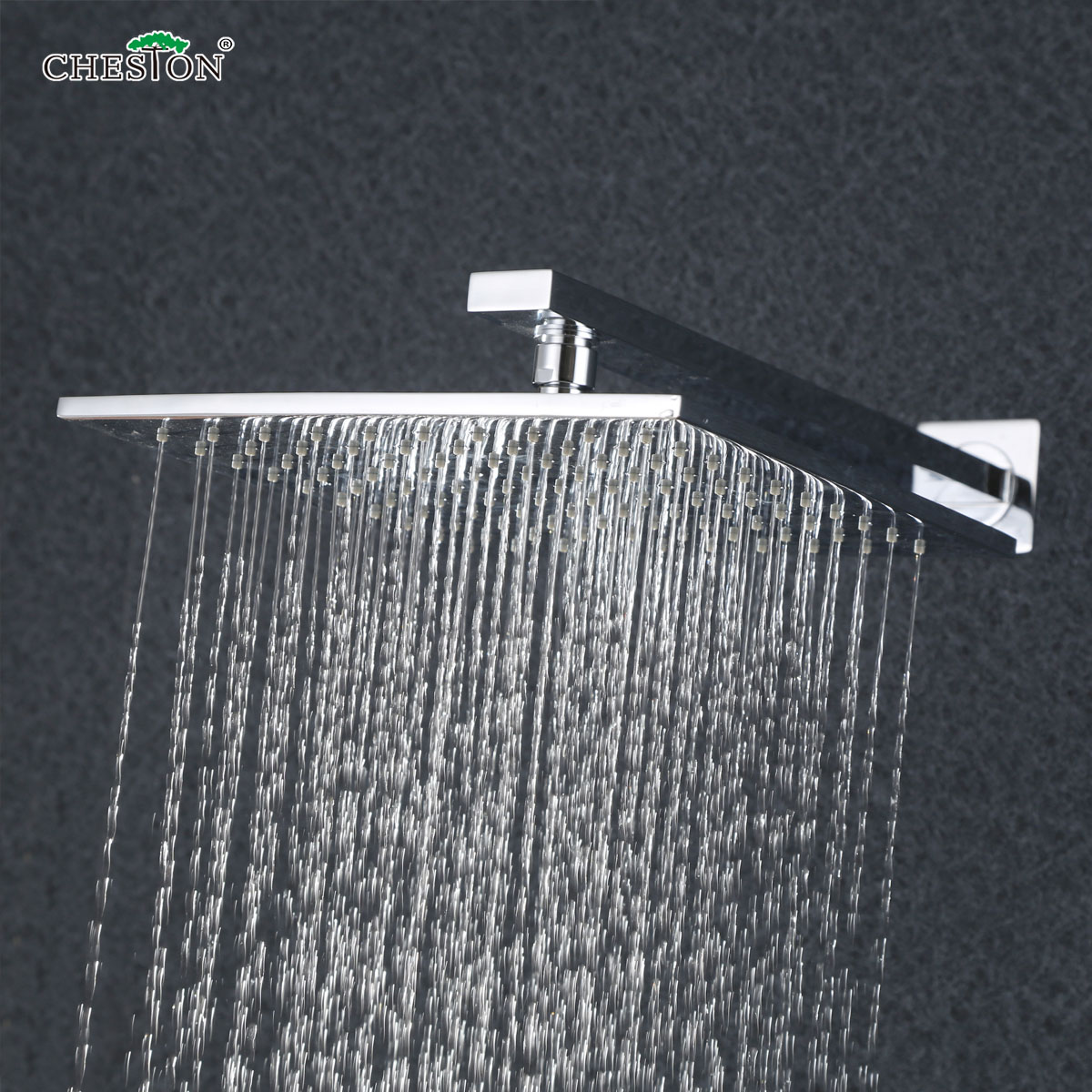 Buy 6 Inch 12 Inch Full Copper Square Single Head Stainless Steel Top Spray Shower  Head Rain Shower Bathroom Shower Accessories In Cheap Price On M.alibaba.  ...