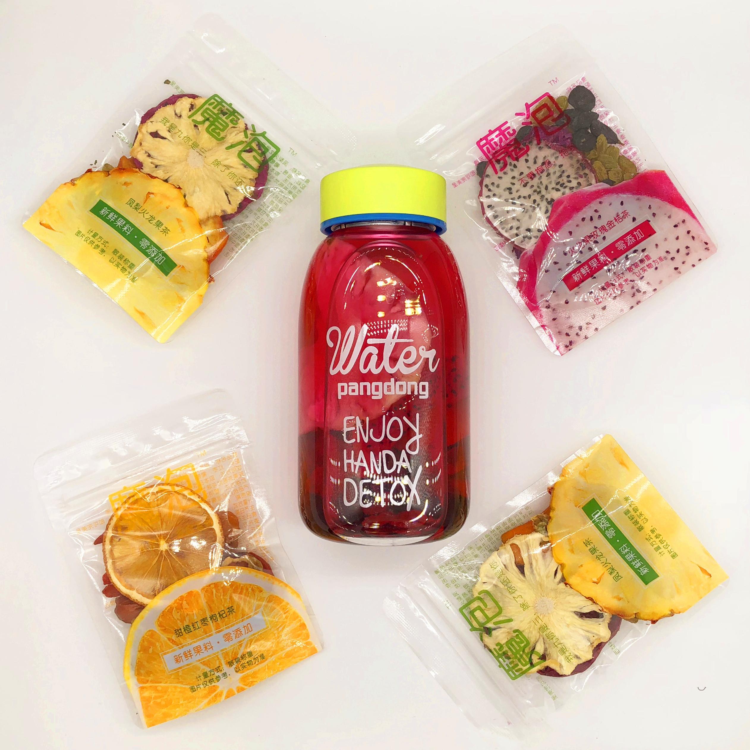 果干片新鲜手工混合袋装水果茶果粒茶花茶组合 290g 魔泡饮品花果茶