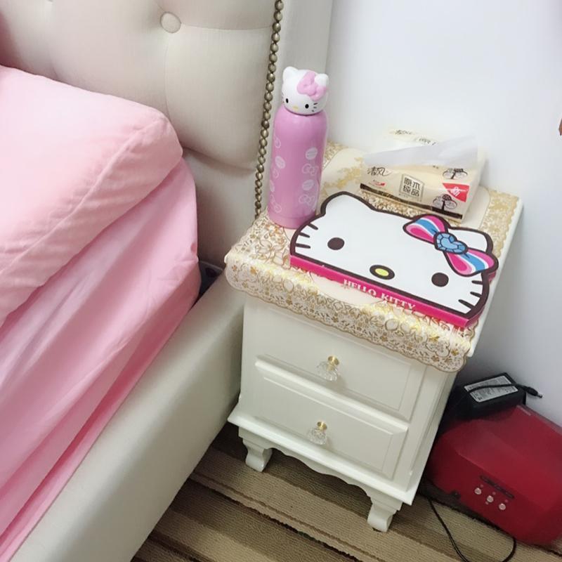 厘米二抽小柜子田园电话桌 30 欧式迷你床头柜简约窄储物柜小床边柜