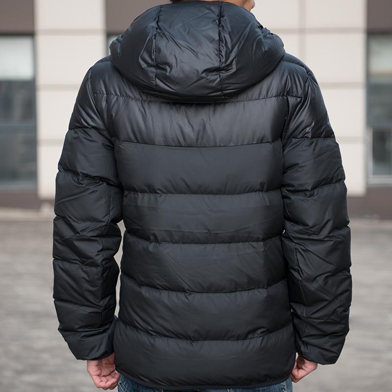 耐克男装2019冬季新款运动连帽羽绒服休闲保暖夹克外套928834-010高清大2452图