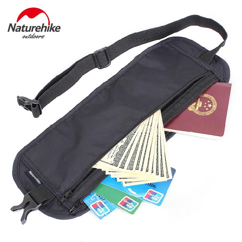 包郵出國旅行護照包男女士貼身防盜腰包 戶外運動旅行隱形錢包