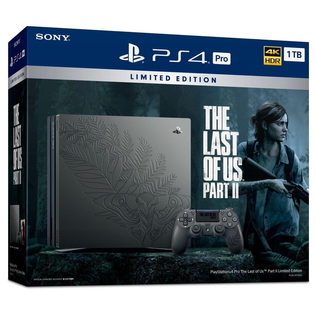 索尼 PS4 Pro 美国末日 限定主机 游戏机 最后的生还者 现货 - 图3