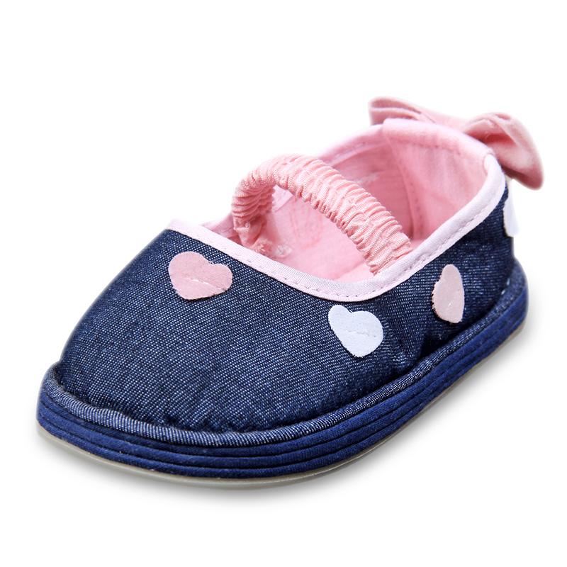 晋豆子宝宝纯手工布鞋老北京千层底婴儿鞋软底男女童公主鞋1-3岁