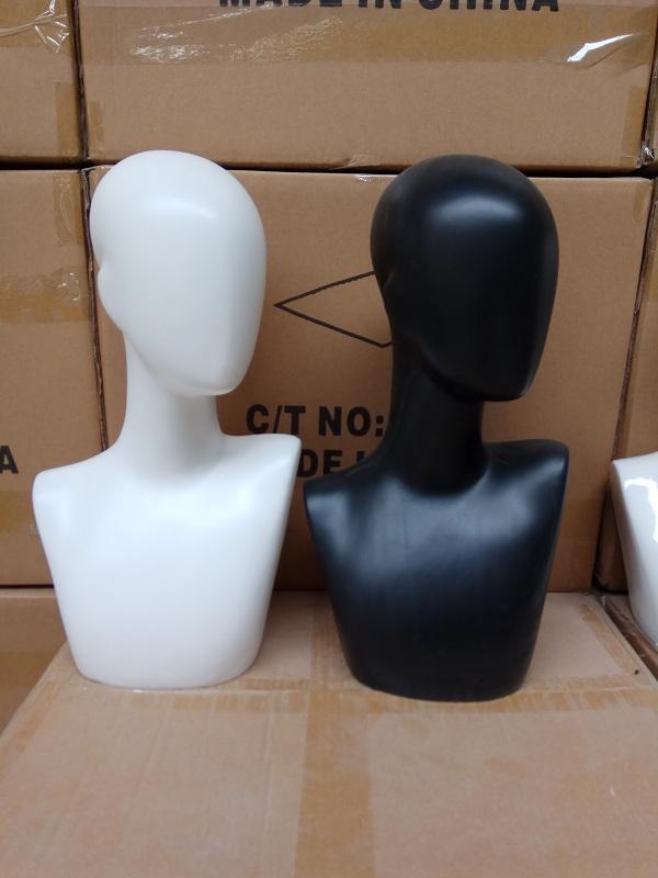 假发模特头玻璃钢头模 展示拍照道具眼镜cosplay假发帽子假人头模