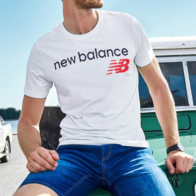 New Balance/NB短袖男2019夏季新款正品圓領休閒透氣運動短袖T恤