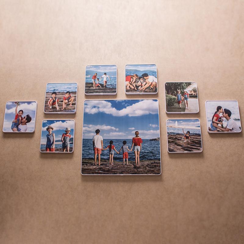 寸 20 挂墙全家福洗照片冲印加相框定制 10 水晶相框摆台儿童韩版创意