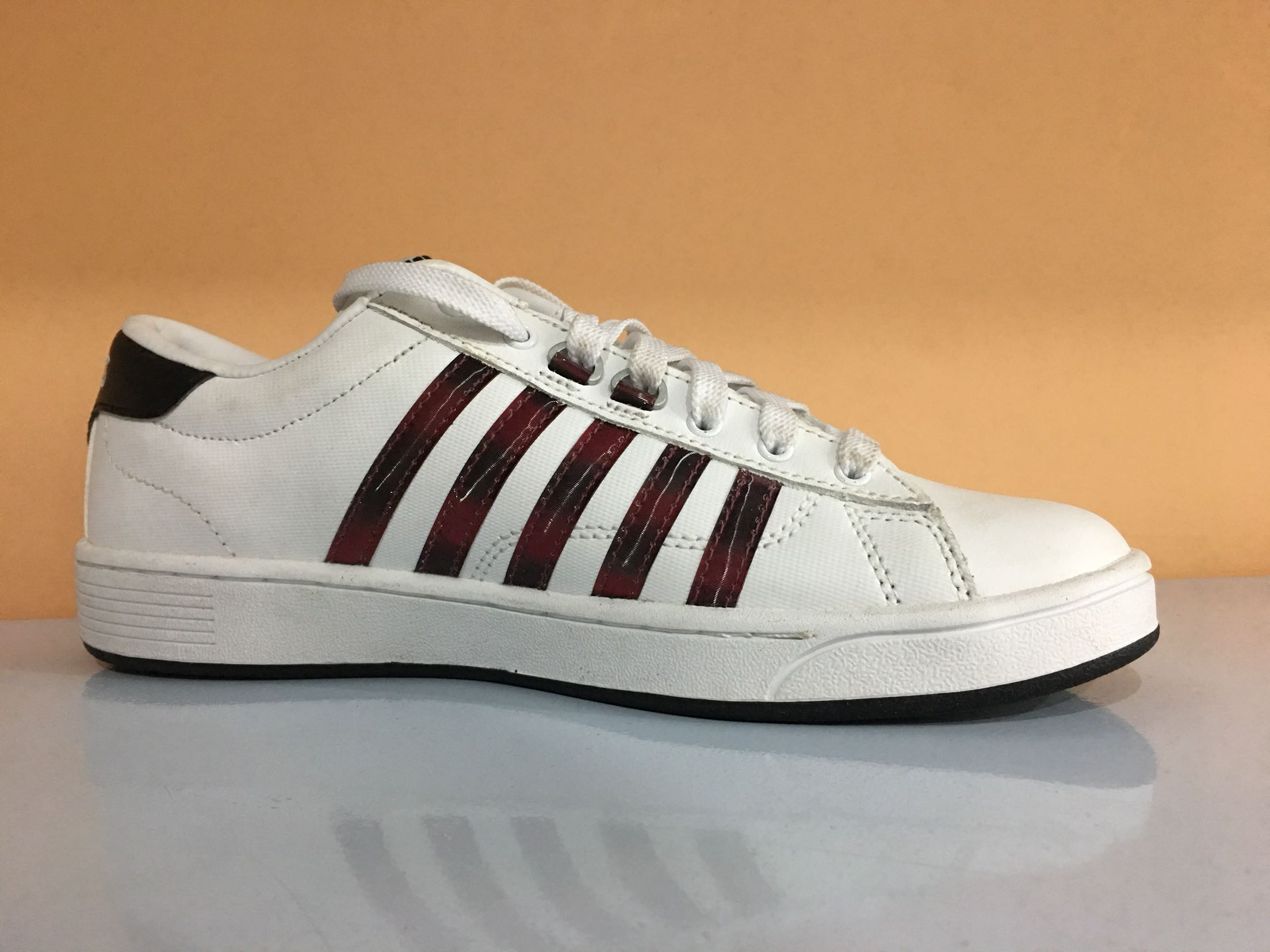 39 小白鞋 牛筋软底板鞋 威透气时尚耐磨休闲鞋 s 正品海外版盖