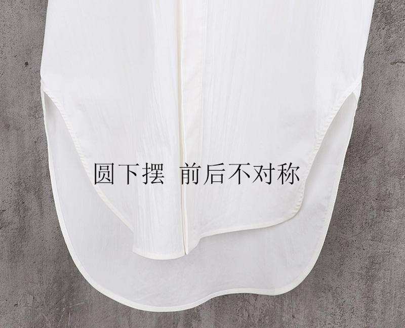 圆摆不对称 连帽阔型潮 男式中长款短袖风衣 设计师品牌 春夏新款