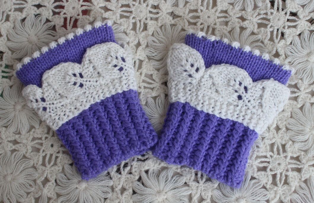 新款森女民族风手工编织毛线棒针手套保暖护手腕手上装饰品两只价
