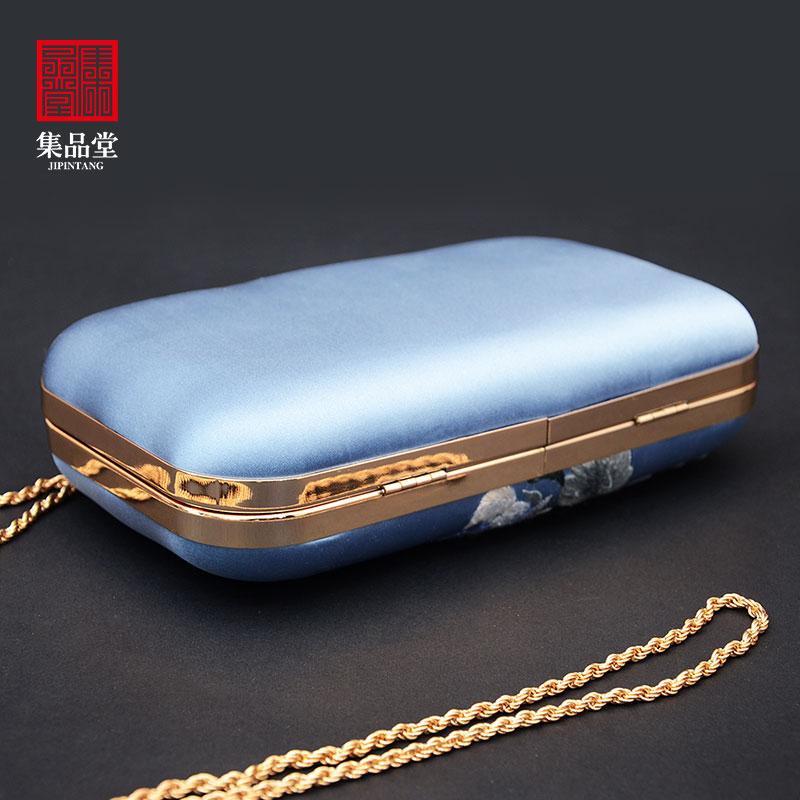 苏绣手工艺刺绣化妆包手挎包钱包中国风民族特色出国小礼品送老外