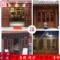 东阳木雕中式仿古装修屏风吊顶玄关隔断花格实木门窗电视背景墙