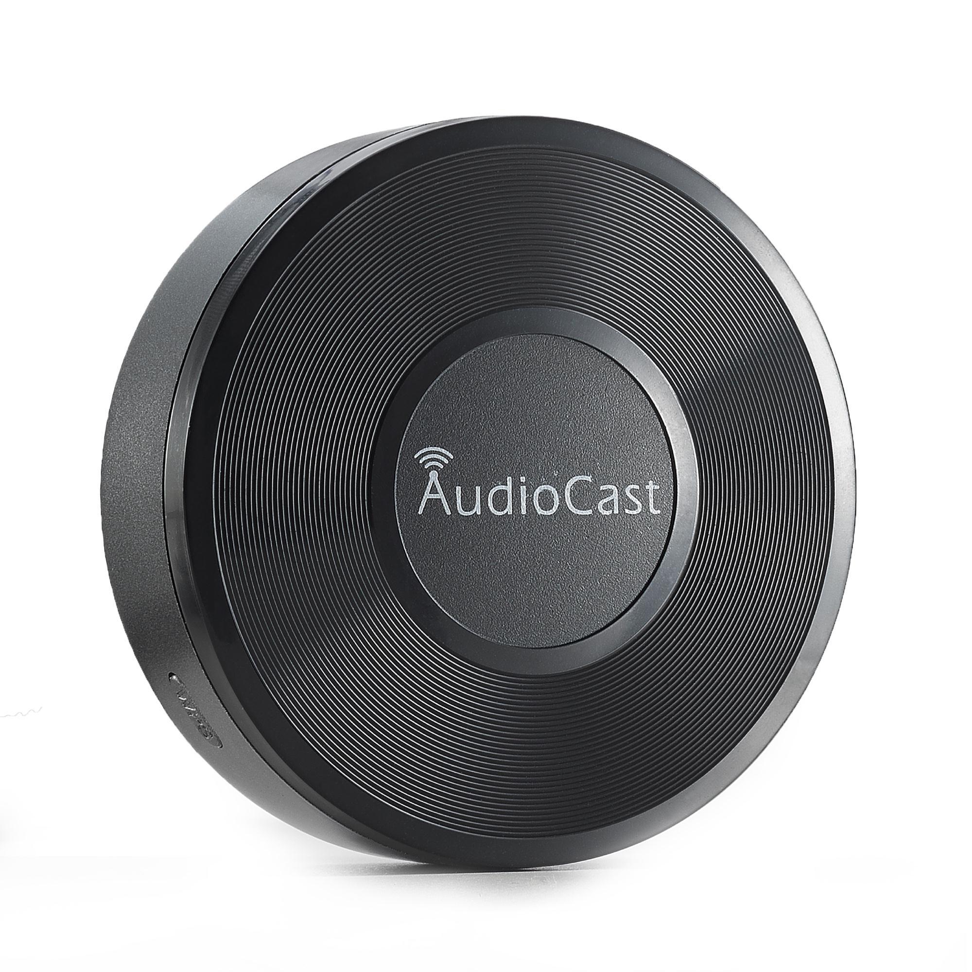 M5无线wifi音乐盒子AudioCast多房间播放 手机平板推送音频接收器