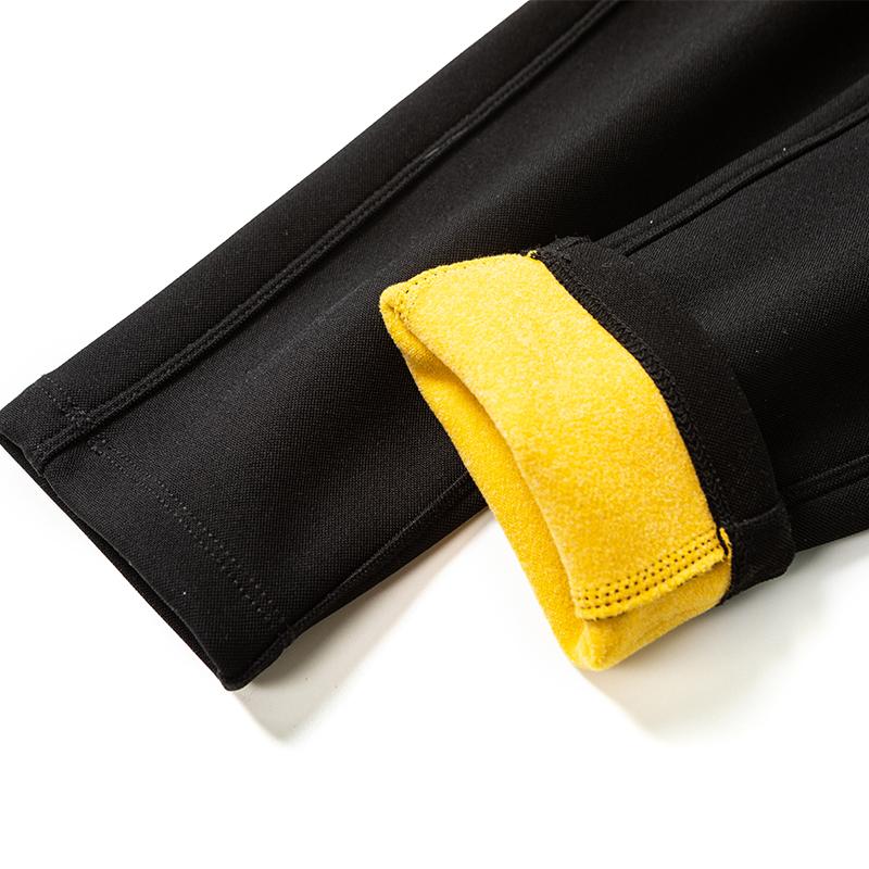 马油小黑裤  K04KZ2467 马油精华高腰收腹修身裤 烈儿 Lierkiss