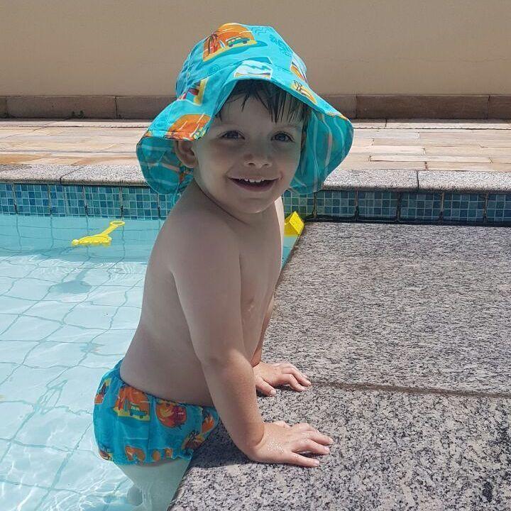 美国i play/iplay婴幼儿童泳衣泳裤防紫外线男女宝宝分体连体防尿
