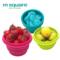 硅胶折叠碗旅行便携伸缩户外野餐用品必备泡面网红饭盒餐具杯套装