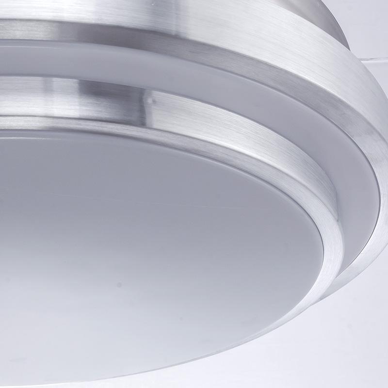 伸缩风扇吊灯 LED 隐形风扇灯卧室餐厅现代简约家用带 吊扇灯客厅