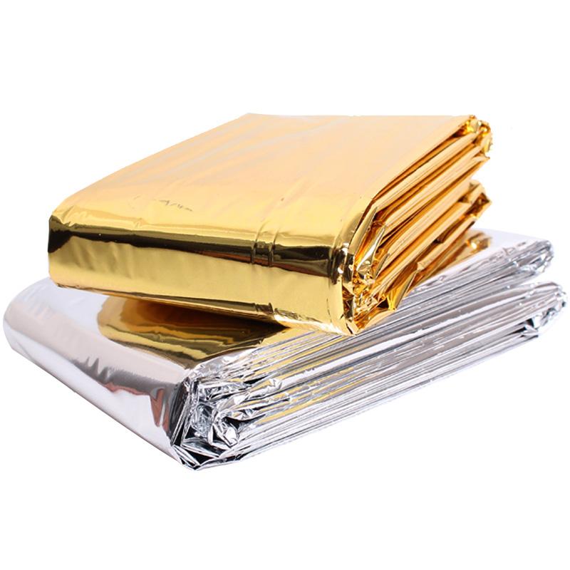 野外救生毯户外急救毯保温毯求生包防晒毯生存应急救生装备包邮