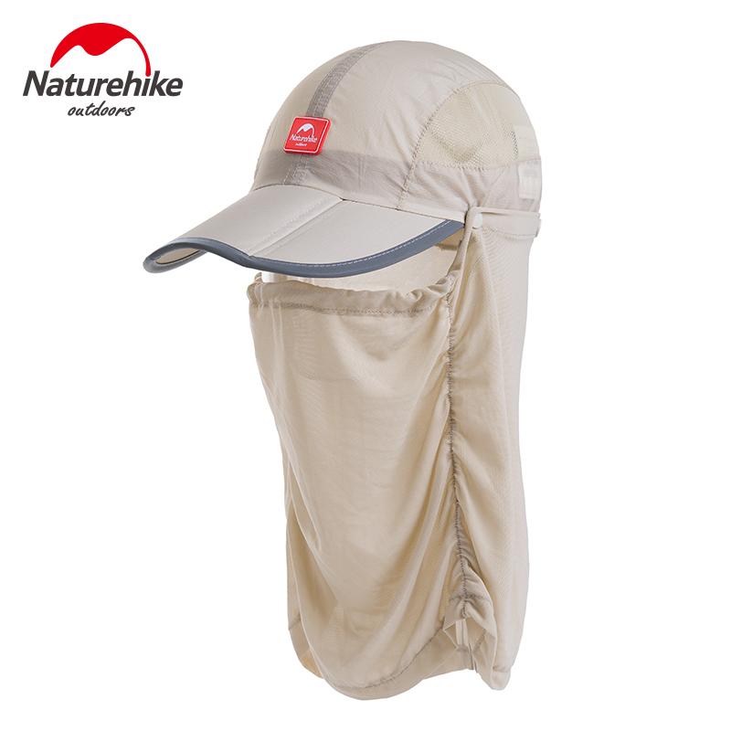 NH 户外钓鱼帽子男士防晒钓鱼帽 夏季透气遮阳防蚊帽垂钓装备用品