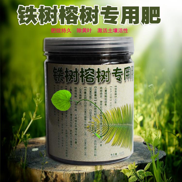 榕树铁树肥料 专用肥料防止黄叶营养液有机肥室
