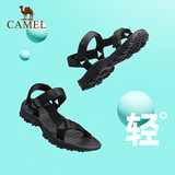 Camel men's outdoor summer new sandals couple models wear soft-soled wading casual sandals female Velcro