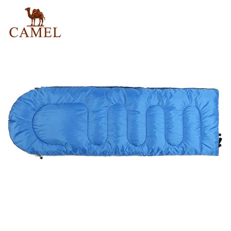 大人睡袋信封保暖睡袋 旅行露营用品 骆驼户外睡袋 万件 1 热销