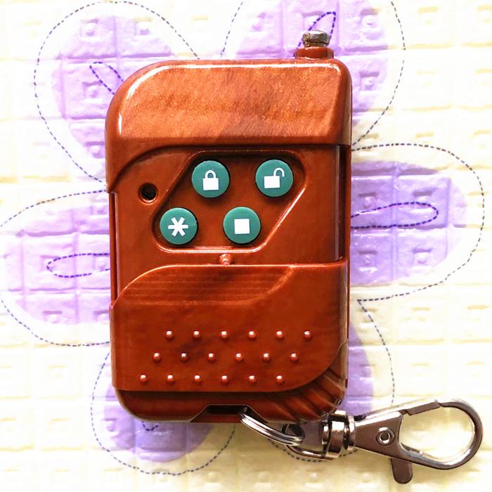 通用对拷贝电动车库门伸缩门道闸杆遥控器工厂大门遥控器学习型