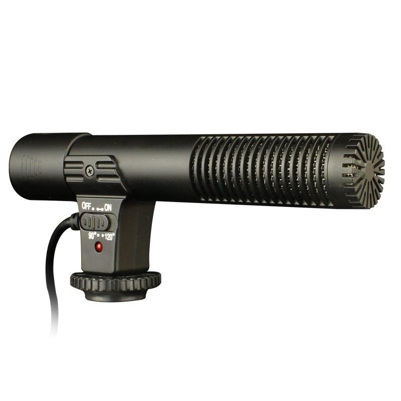斯丹德MIC-01单反相机DV立体声麦克风摄影机专业采访新闻录音话筒 单反相机5D3 5D4 6D2摄像机使用