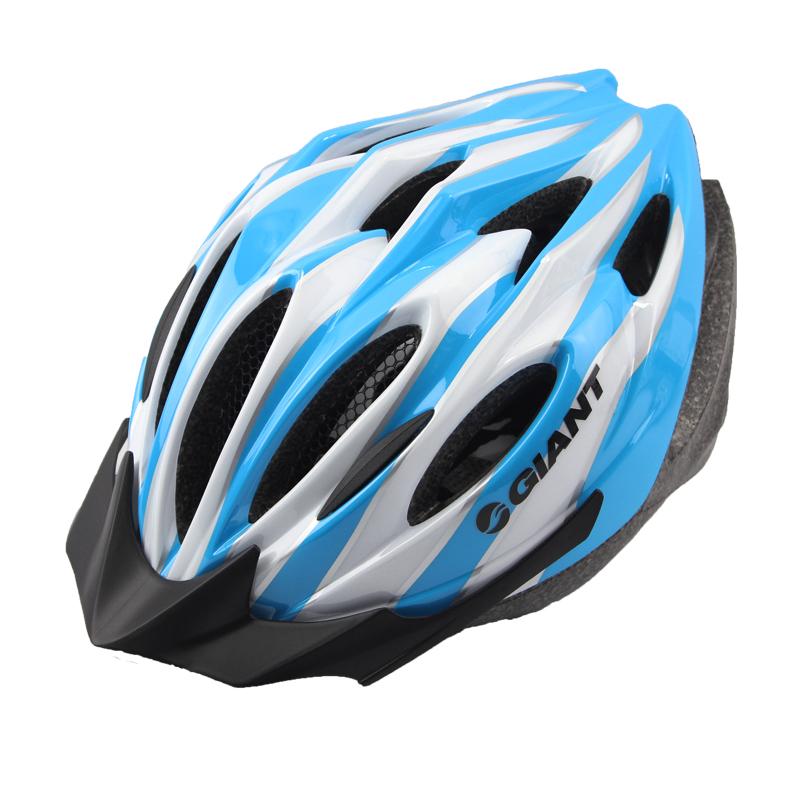 捷安特/GIANT自行車頭盔一體成型騎行頭盔加大碼男女安全帽裝備