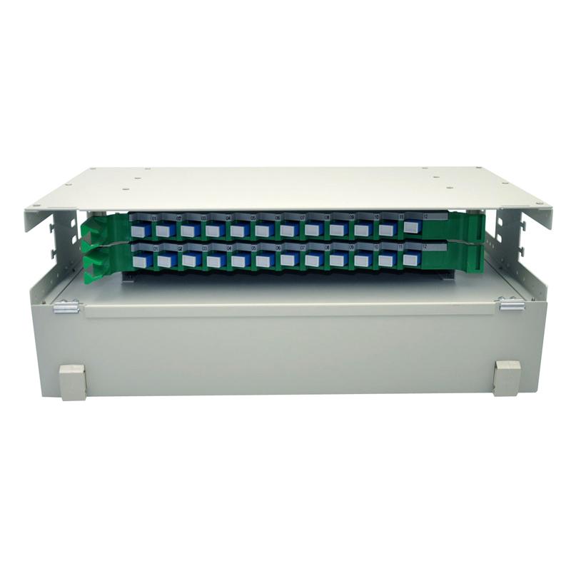 多模单元体熔纤盘 SC 光纤配线箱架满配 ODF 芯 24 菲尼特 Pheenet