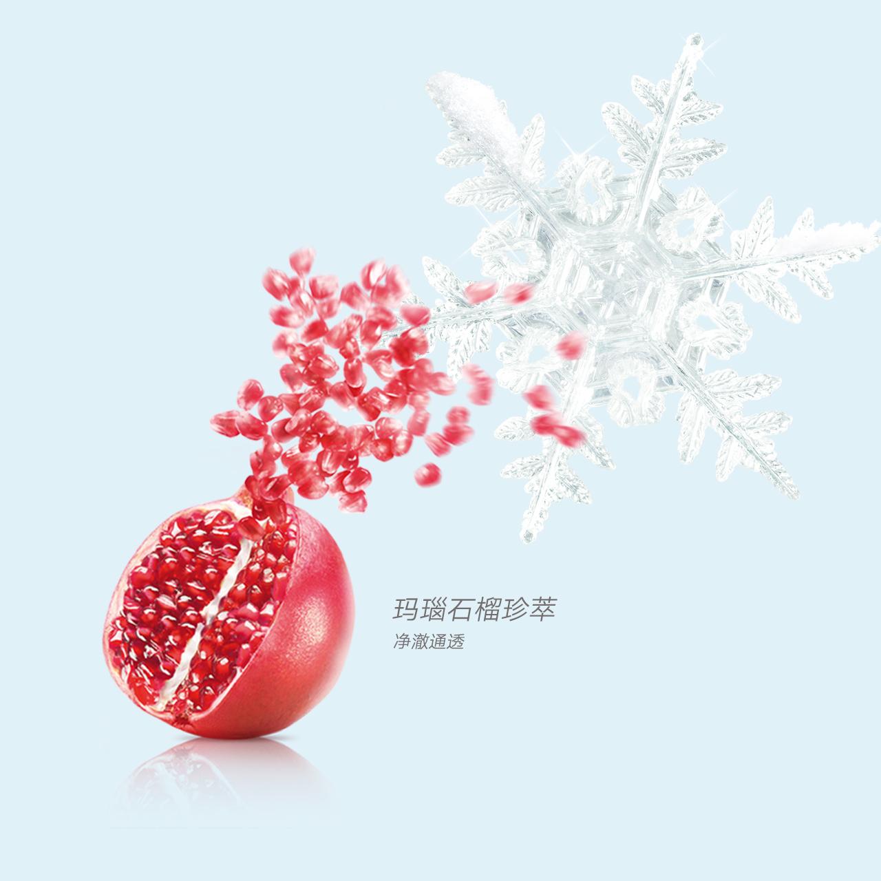控油补水保湿皙白亮肤 雪润深澈洁面膏  自然堂洗面奶专柜正品 110g