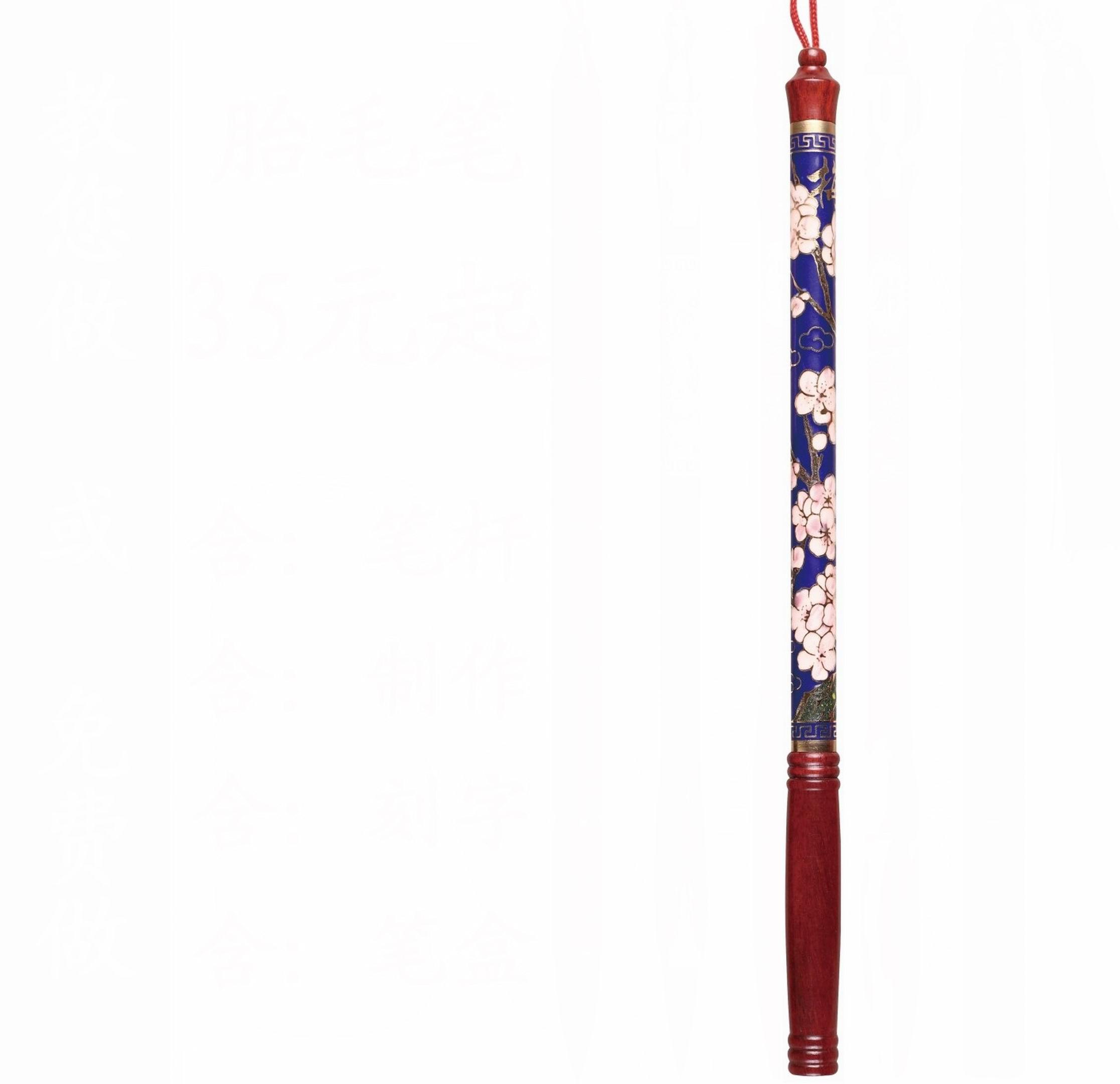 胎毛笔厂家diy自制婴儿满月百天胎发笔杆纪念品制作定做章坠批发