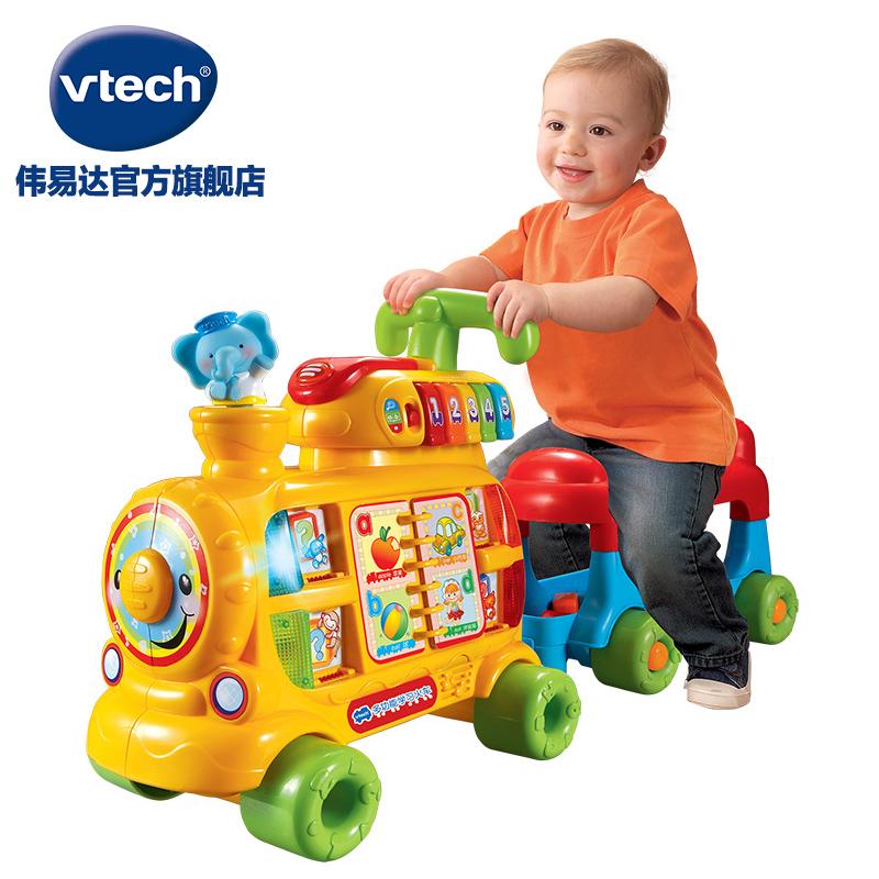 VTech伟易达多功能学习火车踏行车学习英语数字积木玩具 益智玩具