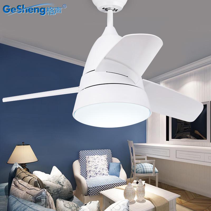 餐厅卧室带电风扇灯吊扇灯儿童房北欧家用现代简约客厅小风扇吊灯