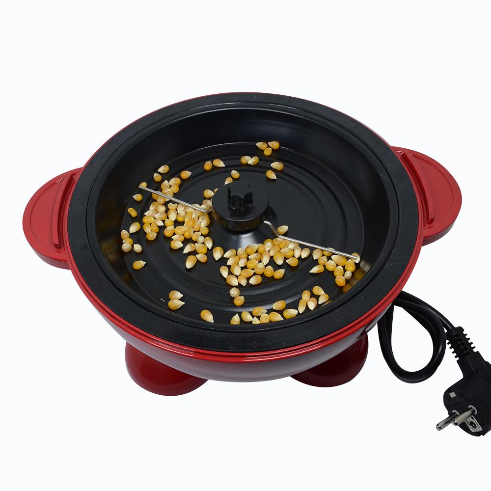 全自动爆米花机家用爆谷机可放糖油甜玉米花儿童节礼物 大容量