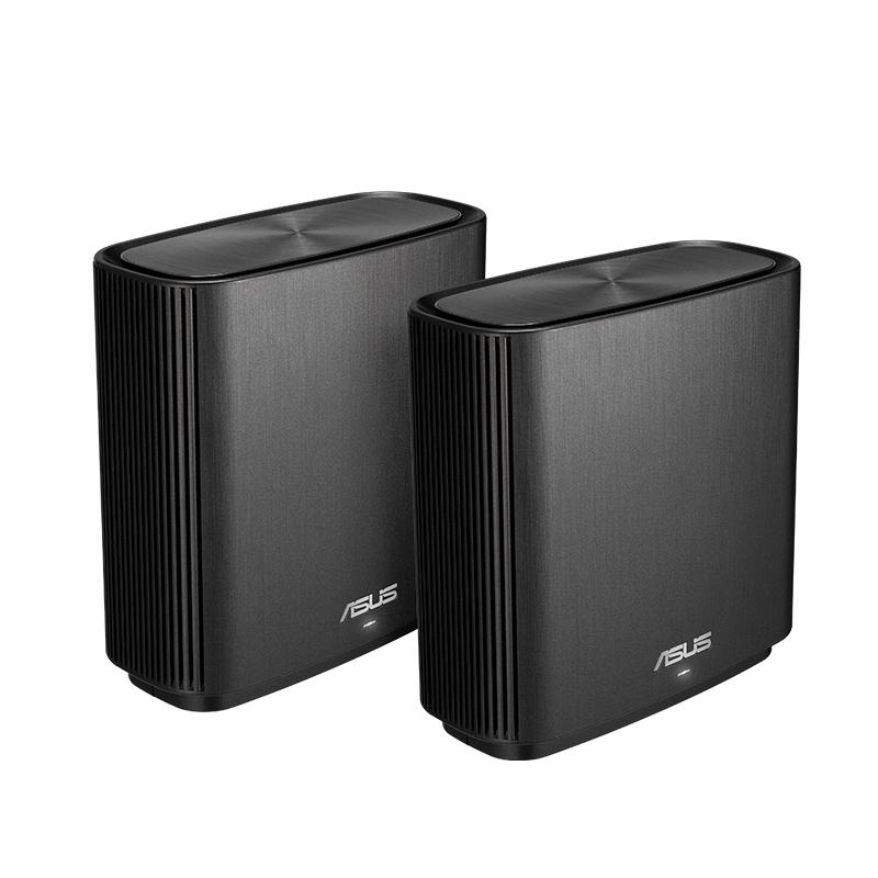家用路由器穿墙王 wifi 分布式组网企业智能无线千兆 Aimesh 3000M 系列路由三频无线 WIFI Zen AC3000 华硕灵耀