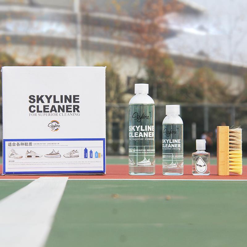 4 油污清洗 nmd 洗鞋神器网面清洗 nb 清洗 AJ 运动球鞋 cleaner skyline