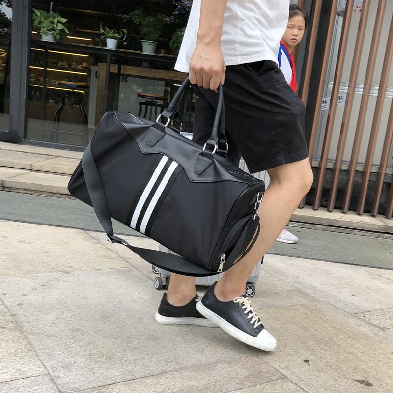 短途旅行包女手提包小行李袋韩版运动包男健身潮出差旅游包登机包