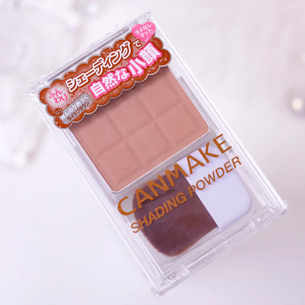 日本CANMAKE井田双色立体修容粉饼组 鼻影粉 阴影粉 高光粉特价