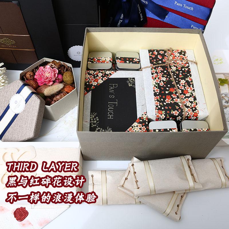 抖音进口零食品组合日式大礼包礼盒小吃整箱生日礼物送女朋友女生