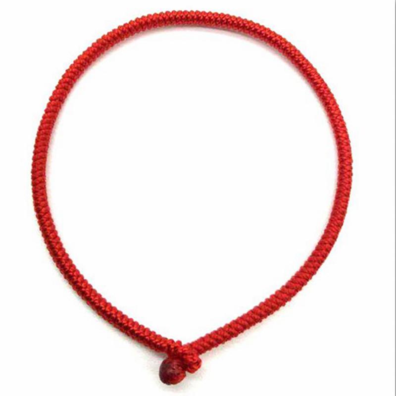 平安转运男女红手绳情侣 金刚结纯手工编织  包邮 本命年红绳手链