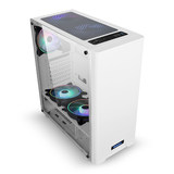 HuntKey GS500C computer chassis may be cooled rgb ATX desktop chassis side lens slab tower chassis