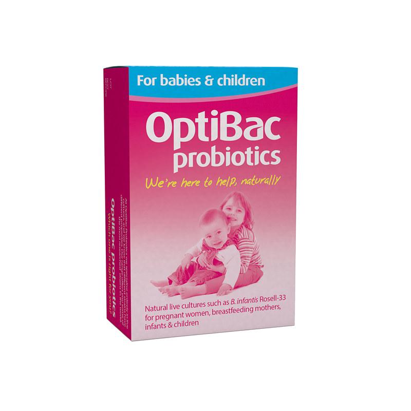 英国授权正品Optibac probiotics 婴幼儿童益生菌粉冲剂宝宝孕妇