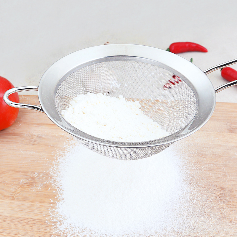 304不锈钢家用儿童果汁豆浆过滤网厨房超细过滤器火锅过漏勺小大