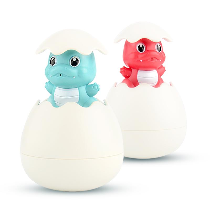 儿童喷水小鸭子花洒企鹅蛋下雨云朵小孩婴儿宝宝浴室洗澡戏水玩具
